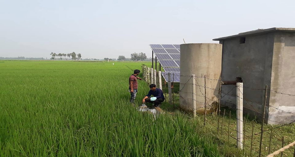 Solar-Water-Irrigation Pump
